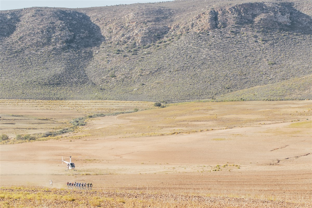 Participants start in the Karoo semi-desert and finish at the coast at the Momentum Health Attakwas Extreme, presented by Biogen. Photo credit: Ewald Sadie