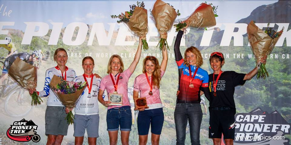 Katja & Hannele raced to 3rd on the Cape Pioneer Trek GC together in 2016.