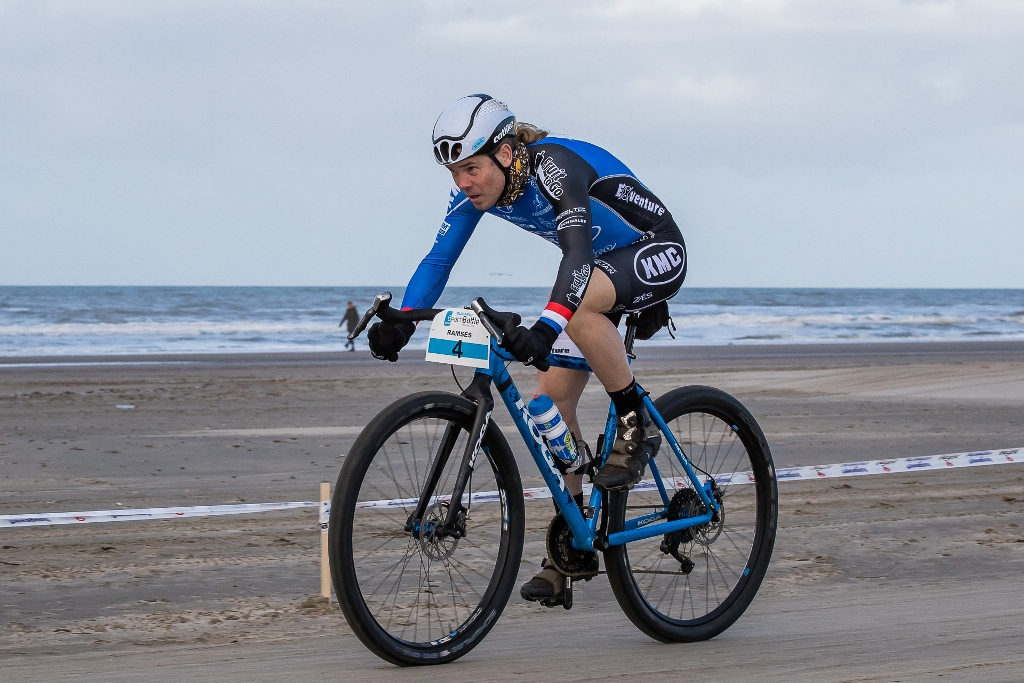 Dutch beach racing star Ramses Bekkenk will not be intimidated by the breezy conditions predicted for the 2017 36ONE MTB Challenge. Photo by www.directsportfoto.nl.