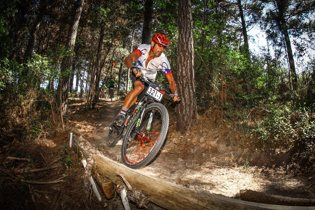 Stage 4 of the 2017 Momentum Health Cape Pioneer Trek, presented by Biogen, is set to be a 31km singletrack packed time trial around the trails of George. Photo by Oakpics.com.