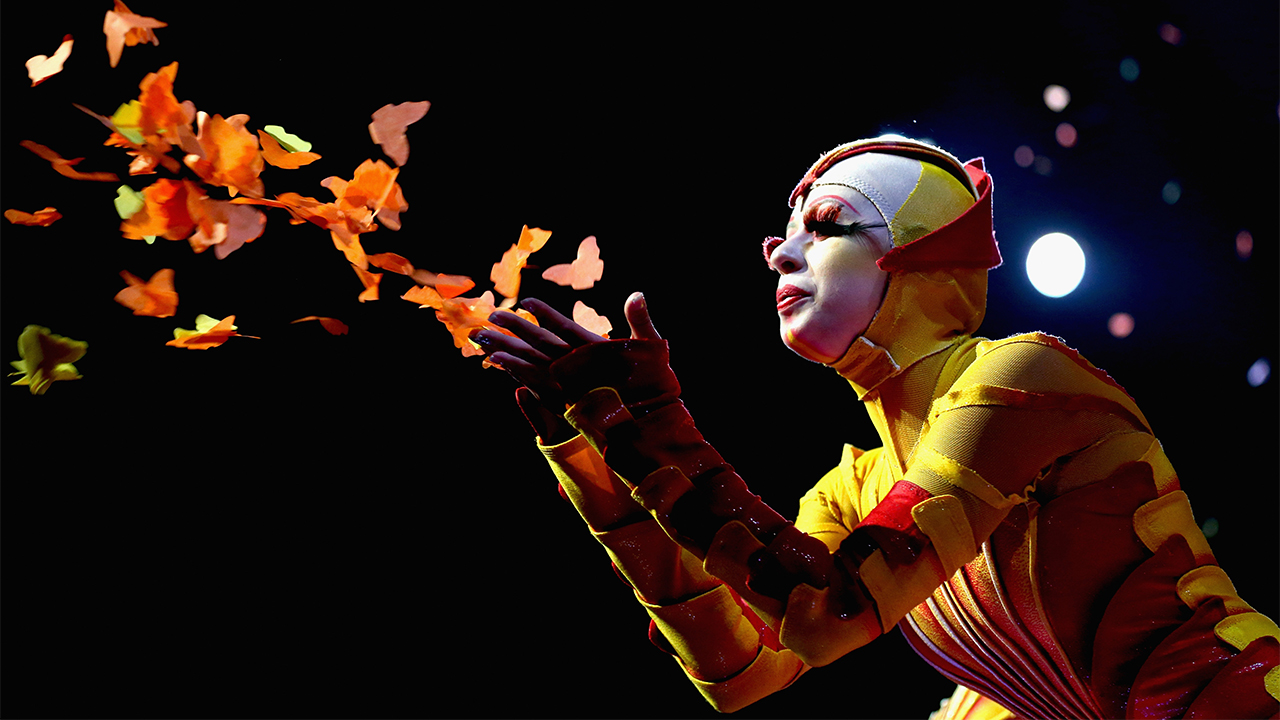 SYDNEY, AUSTRALIA - SEPTEMBER 12:  Cirque Du Soleil cast memebers perform during the dress rehearsal of Ovo at the Entertainment Quarter on September 12, 2012 in Sydney, Australia.  (Photo by Ryan Pierse/Getty Images)