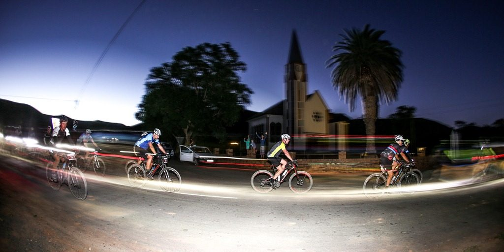 All riders race through the night at The 36ONE MTB Challenge which sets it apart from the other ultra-endurance events in South Africa. Photo by Oakpics.com.