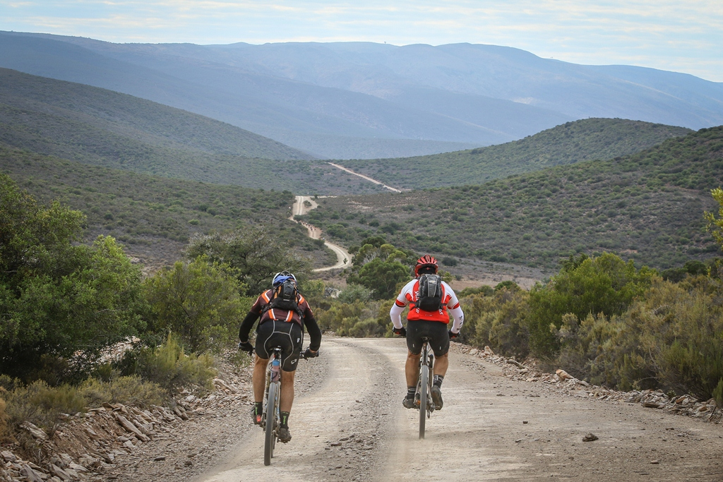 The rolling roads of the Klein Karoo are both beautiful and cumulatively extremely challenging as the distance covered ticks up towards 361km. Photo by Oakpics.com.