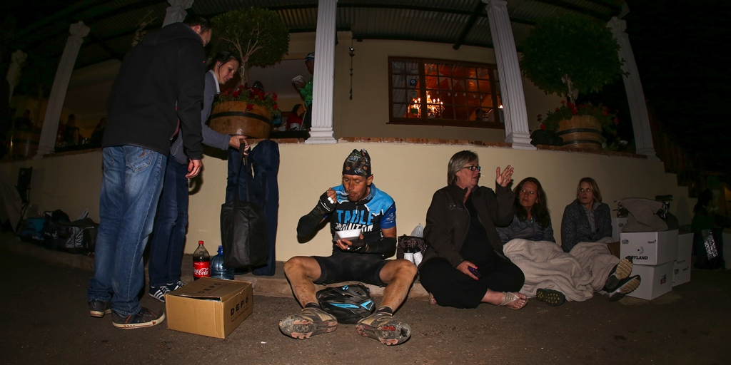 Riders are threated to three check points, where they'll receive proper meals, in addition to the seven water points in the 361km long route. Photo by Oakpics.com.